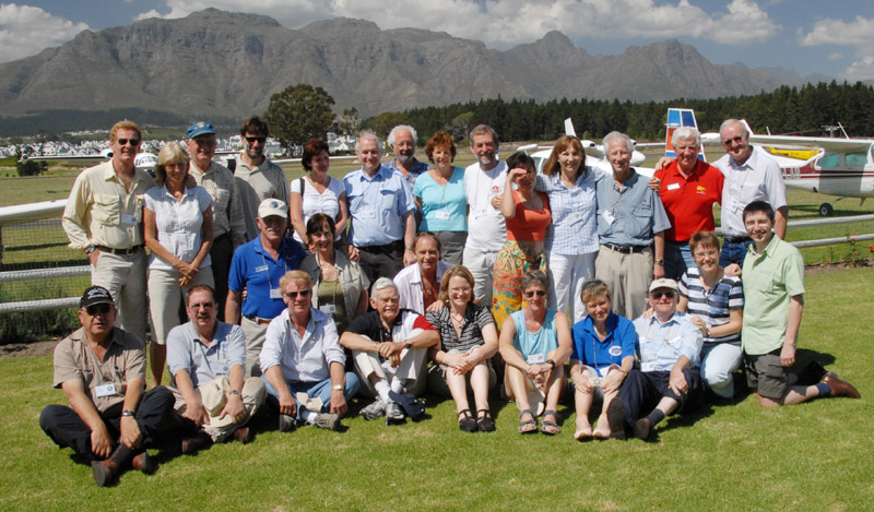The Earthrounders at Stellenbosh