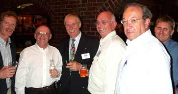 Gerard Moss, Claude Meunier, Frank Hettlich, Bill Finlen, 