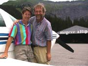 Carol Ann and Flemming in Megeve