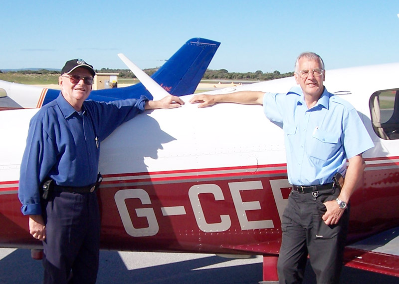 Jim Nisbet in Jandakot
